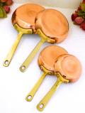 1910年代:エドワーディアン時代♪とても珍しい銅の片手パン「4点セット」