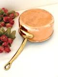 1930年代:長い時がいいお味になった英国アンティークの銅のまあるい片手パン