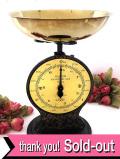 <超レア♪ SALTER No46>1920年代:貴重な英国ソルター社の大きなキッチンスケール