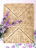 レア♪カントリーなウォーターリリーの長方形のテーブルマット
