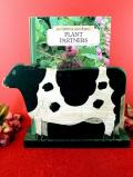 <英国ハンドメイド>1960年代:暖かな牛さん♪木のぬくもりが優しいマガジン&ニュースペーパーラック
