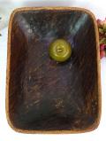 1940年代:とても珍しい無垢の天然木から削りだしたとても大きくてカントリーなボウル
