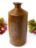 1920年代:カントリーサイドの美人さん♪英国ストーンウェアのピースフルなとても大きな保存ビン