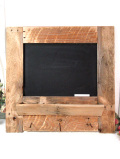 <英国ハンドメイド>木のぬくもりがあたたかいカントリーで大きな黒板