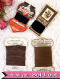 とても珍しい英国アンティーク糸巻きのコレクション「4個セット」
