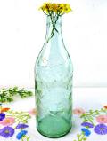1920年代:淡い緑ガラス♪とても珍しい世界で初めての炭酸飲料「 SCHWEPPES」の大きなボトル