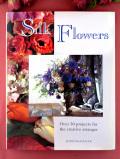 <英国クラフトBOOK>「Silk Flowers」シルクのお花をアレンジで楽しむ大判のご本