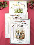 <PETER RABBIT>「FAVOURITE TALES FROM BEATRIX POTTER」ピーターラビット君と子猫のトムの大判の絵本「2冊セット」