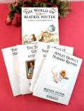 <PETER RABBIT>「THE WORLD OF BEATRIX POTTER」ピーターラビット君と楽しい仲間たちの4冊の絵本セット