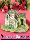 <Lilliput Lane>「PIXIE HOUSE」♪妖精の家という名前の愛らしいカントリーコテージのフィギュア「証明書&パンフレット付」