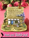 <Lilliput Lane>「PARSLEY COTTAGE」♪日本の里山で出会いそうななつかしい英国のカントリーコテージフィギュア「お箱&証明書付」