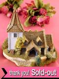 <Lilliput Lane>「GREENSTED CHURCH」♪世界最古の木造教会のカントリーコテージフィギュア