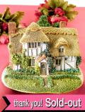 <Lilliput Lane>「CAMOMILE LAWN」♪チューダー様式の大きな木々が美しい英国カントリーコテージの大きなフィギュア