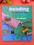 <英国手芸BOOK>「beading for the first time」♪英国流ビーズワークのご本