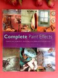 <英国インテリアBOOK>「Complete Paint Effects」♪ペイント効果が素晴らしい英国流インテリアの分厚いクラフトワークのご本