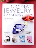 <英国クラフトBOOK>「CRYSTAL JEWELRY CREATIONS」クリスタルを使った楽しいジュエリークラフトワークのご本