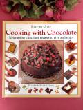 <英国COOK BOOK>「Cooking with Chocolate」♪英国流のチョコレートを中心としたお料理の大判のご本