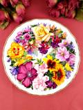 <ロイヤル・アルバート:限定品>「Birthday Bouquet」レア♪クィーンマザーのお花たちの絵皿
