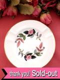 ★★<廃盤レア♪ウェッジウッド>1959年:「HATHAWAY ROSE(ハサウェイ・ローズ)」のピンクのバラのアシュトレイ「スタンド付」:通常価格3480円→