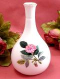 <廃盤レア♪ウェッジウッド>1959年:「HATHWAY ROSE(ハサウェイ・ローズ)」のピンクのバラの一輪挿し