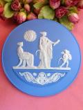 <ウェッジウッド>「2007年SUMMER」♪とても貴重で珍しい女神様と天使のイヤープレート「パンフ&カード&お箱&スタンド付」