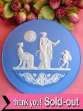 <ウェッジウッド>「2007年SUMMER」♪とても貴重で珍しい女神様と天使のイヤープレート「パンフ&カード&お箱&スタンド付」:通常価格6460円→