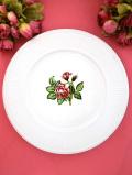 <ウェッジウッド>「MOSS ROSE」♪シックなバラたちの優雅なディナープレート