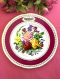 <RHS:英国王立園芸協会>1982年「Chelsea Flower Show Plate」♪華やかなお花たちの絵皿