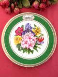 <RHS:英国王立園芸協会>1981年「Chelsea Flower Show Plate」♪華やかなお花たちの絵皿