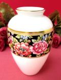 <廃盤レア♪ウェッジウッド>豪華な金彩とお花たち♪「CLIO」の素晴らしく美しいフラワーベース