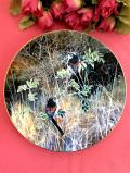 <COALPORT:限定品>「Long Tailed Tits」英国の愛らしい野鳥さんがきれいな絵画のような絵皿