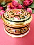 <廃盤レア♪ウェッジウッド>豪華な金彩とお花たち♪「CLIO」の素晴らしく美しいポーセリンBOX