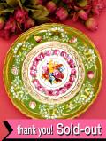 <COALPORT:限定品>「Rose Garland」♪バラたちのお花が優雅な素晴らしい金彩の絵皿