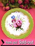 <COALPORT:限定品>「Roses, Bluebells and Iris」♪たっぷりとした金彩が美しいお花たちの絵皿