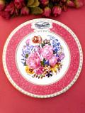 <RHS:英国王立園芸協会>1998年「Chelsea Flower Show Plate」♪華やかなバラのブーケの絵皿