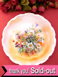 <ロイヤル・アルバート:レア♪>「shakespeare's  flowers」♪シェークスピアの登場人物のとても珍しい絵皿