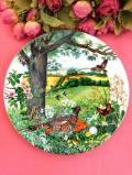 <WEDGWOOD:限定品>「Meadows and Wheatfields 」♪英国の森の動物たちの絵皿