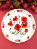 <THE ROYAL BRITISH LEGION>限定品「Field  Poppy」♪11月に胸にポピーのお花をつける記念プレート