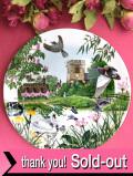 <WEDGWOOD:限定品>「The Village Pond」♪英国カントリーサイドの小さな村の池に集まる動物たちの絵皿