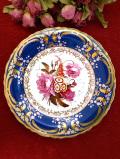 <COALPORT:限定品>「Rose, Auricula and Peony」♪バラとプリムラとピオニーの豪華すぎる金彩の絵皿