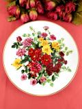 <THE ROYAL NATIONAL ROSE SOCIETY>限定品「PETITE PERFECTION」♪満開のバラたちの華やかな絵皿