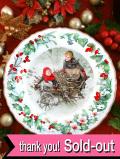 <英国流クリスマス:WEDGWOOD>「THE VICTORIA & ALBERT MUSEUM」♪子供たちのクリスマス・プレート