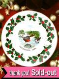 <Royal Grafton>「TWELVE DAYS OF CHRISTMAS:Four Callimg Birds」1979年:4羽の鳴いている野鳥さんのクリスマス・プレート