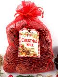 <英国流クリスマス>いい香りの天然の松かさ♪たくさんのパインコーンの詰め合わせ大袋
