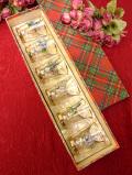 <スコットランド製>スコットランドの美しい風景のショットグラス「6個セット/お箱付」