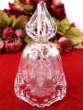 1940年代:クリスタル美人♪ガラス細工が美しいアートフルなクリスタルガラスのベル