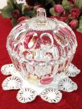1950年代:果実のようなフォルム♪水玉がきれいなクリスタルガラスの光のボンボンBOX