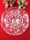1930年代:大きなガラスのお花のような英国アンティークのケーキスタンド