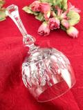 1940年代:クリスタル美人♪ガラス細工が美しいアートフルなとても大きなクリスタルガラスの大きなベル