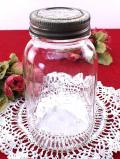 <KILNER社>1920年代:透明なアンティークガラス♪ぽったりとぶ厚い英国キルナー社の伝統的なガラスジャー